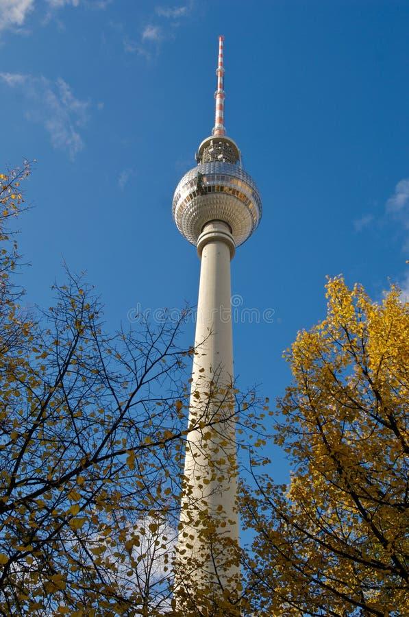 Berlijn Fernsehturm royalty-vrije stock afbeelding