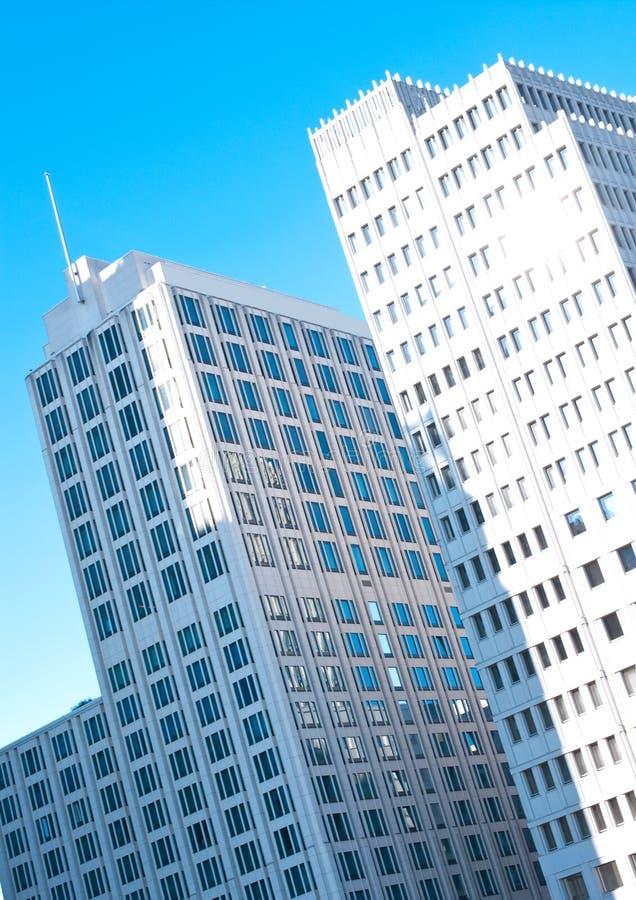 Berlijn, moderne bureaugebouwen royalty-vrije stock foto's