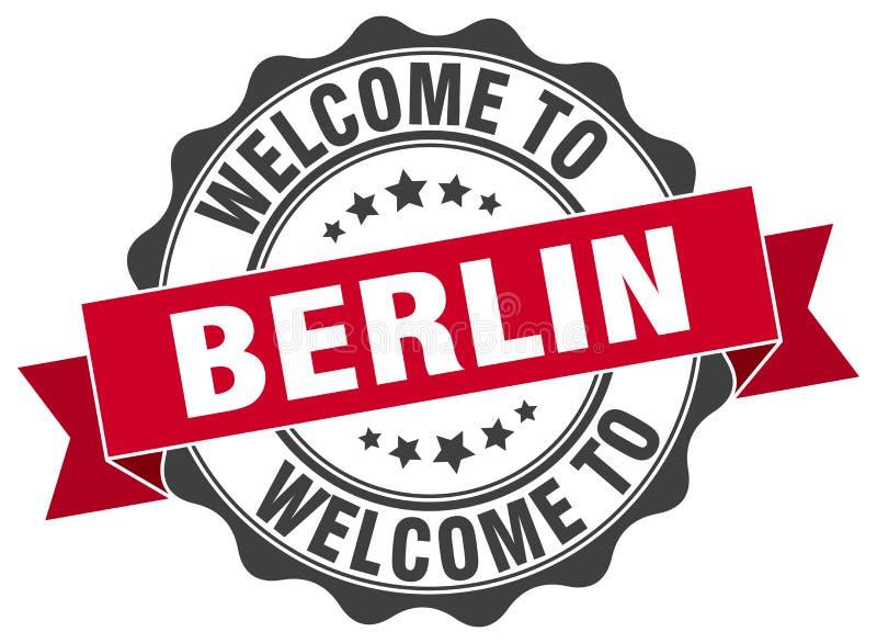 Berlijn om lintverbinding vector illustratie