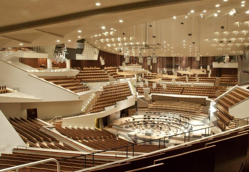 Berlijn philharmonie royalty-vrije stock afbeelding