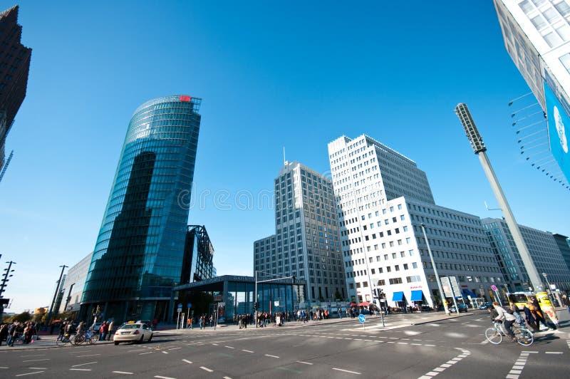 Berlijn, Potsdamer Platz stock foto's