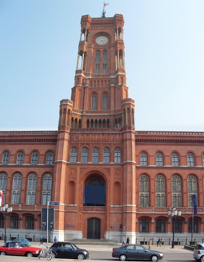 Berlijn Rathaus royalty-vrije stock foto's