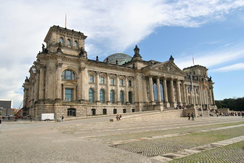 Berlijn Reichstag royalty-vrije stock foto