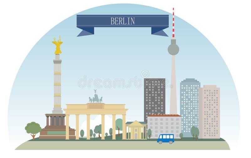 Berlim ilustração do vetor