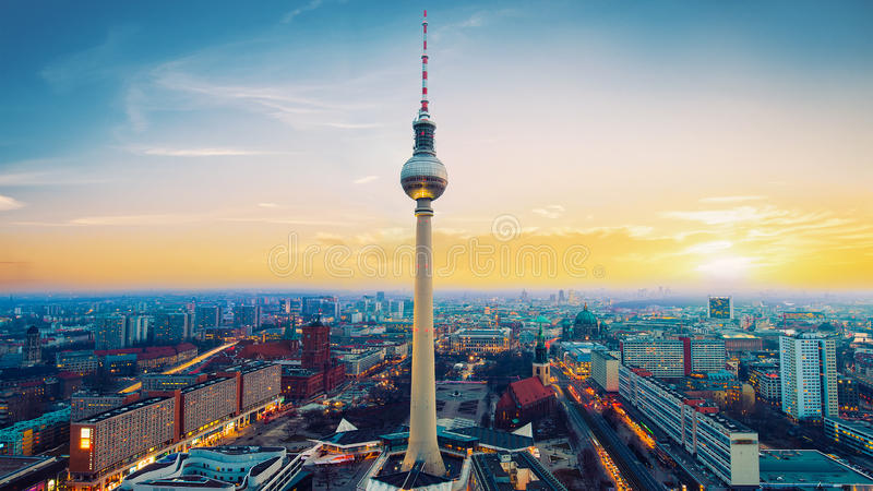 Berlim! imagem de stock