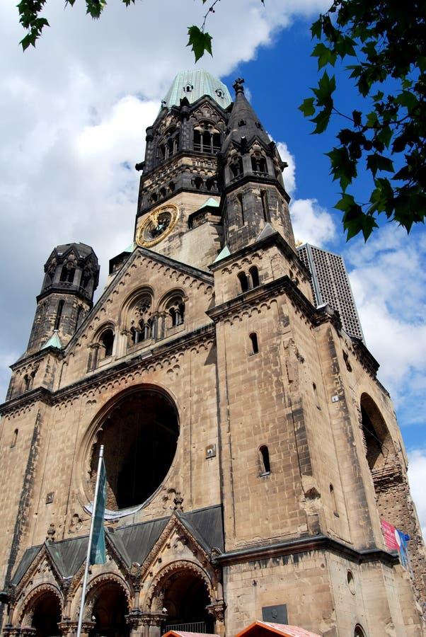 Berlim, Alemanha: Igreja de Kaiser Wilhelm fotografia de stock royalty free