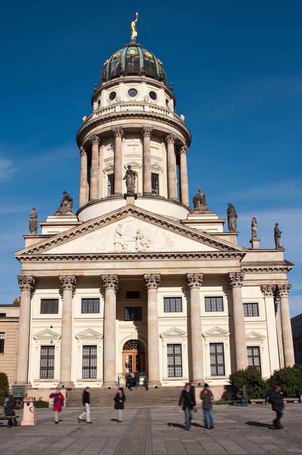 Berlim, catedral francesa imagens de stock