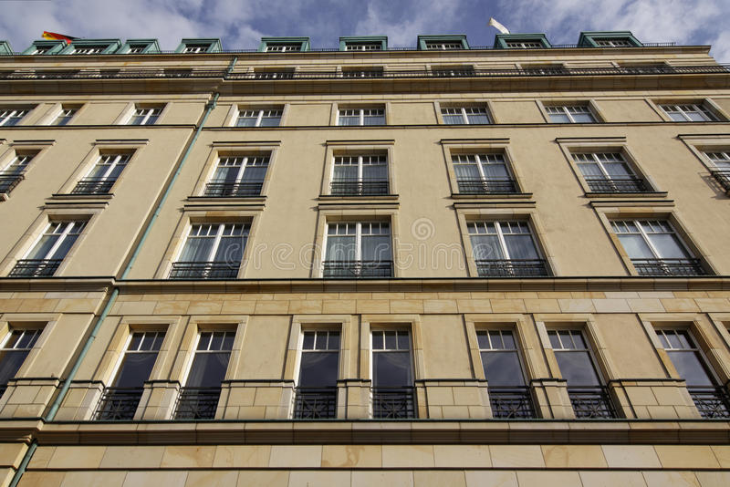 Berlim - hotel Adlon fotografia de stock