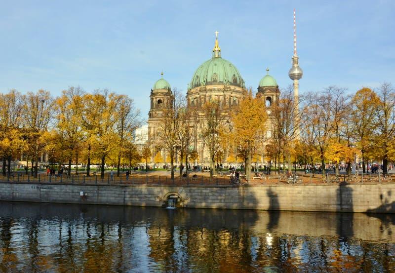 Berlim katedra w Berlin, Niemcy obraz stock