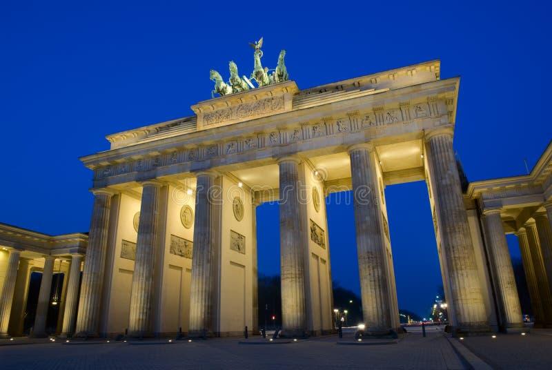 Berlim: Porta de Brandebourg fotografia de stock