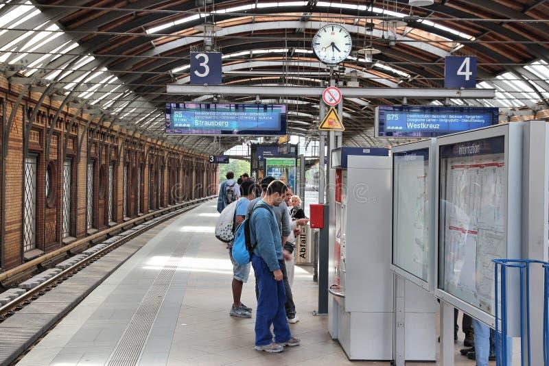 Berlim S-Bahn imagem de stock
