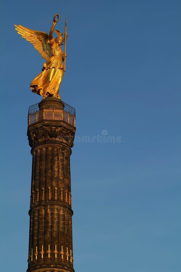Berlim Siegessaeule foto de stock royalty free