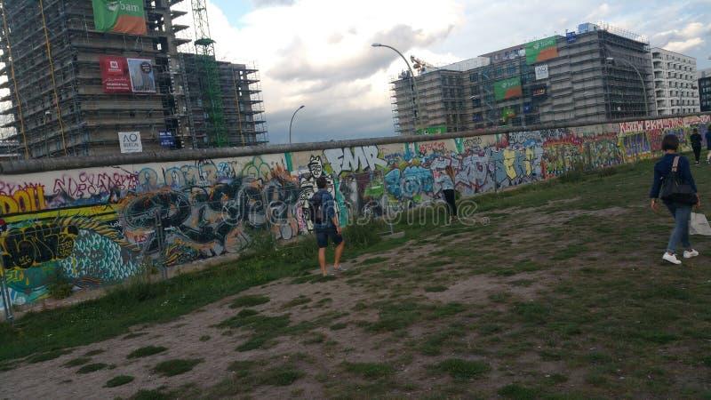Berlinés Mauer imagen de archivo libre de regalías