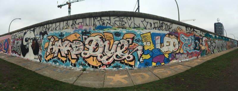Berlin ściana, Germay, Allemagne, Le Mur De Berlin zdjęcia royalty free