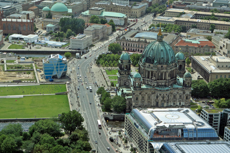 Download Berlin editorial stock photo. Image of cathedral, blue - 23034408