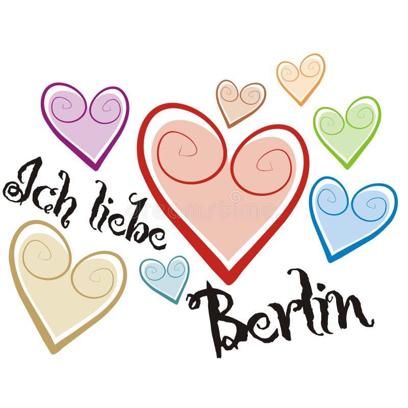 Download Berlin stock vector. Image of hearts, emotion, deutschland - 3410184