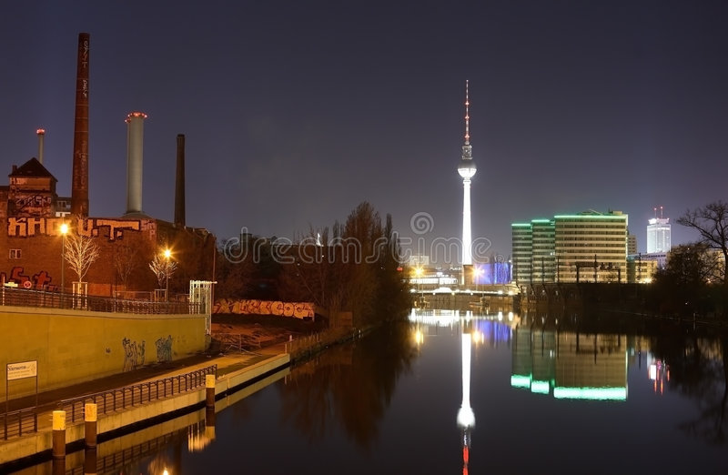 berlin стоковое изображение