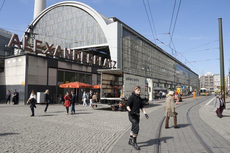 Download BERLIN - ALEXANDER PLATZ Editorial Stock Image - Image: 20110264