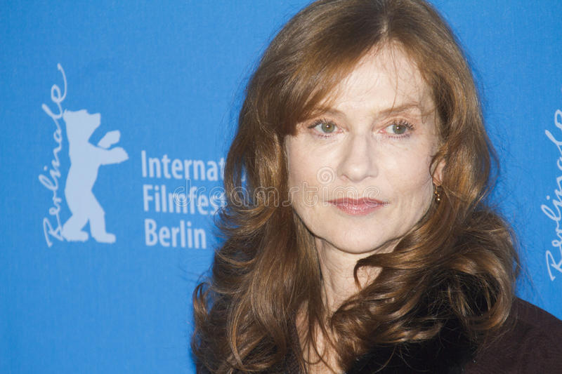 Isabelle Huppert photographie stock