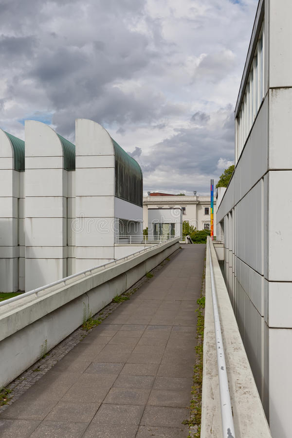 BERLIN, ALLEMAGNE - JUILLET 2015 : Le Bauhaus Archiv en Berlin German photographie stock
