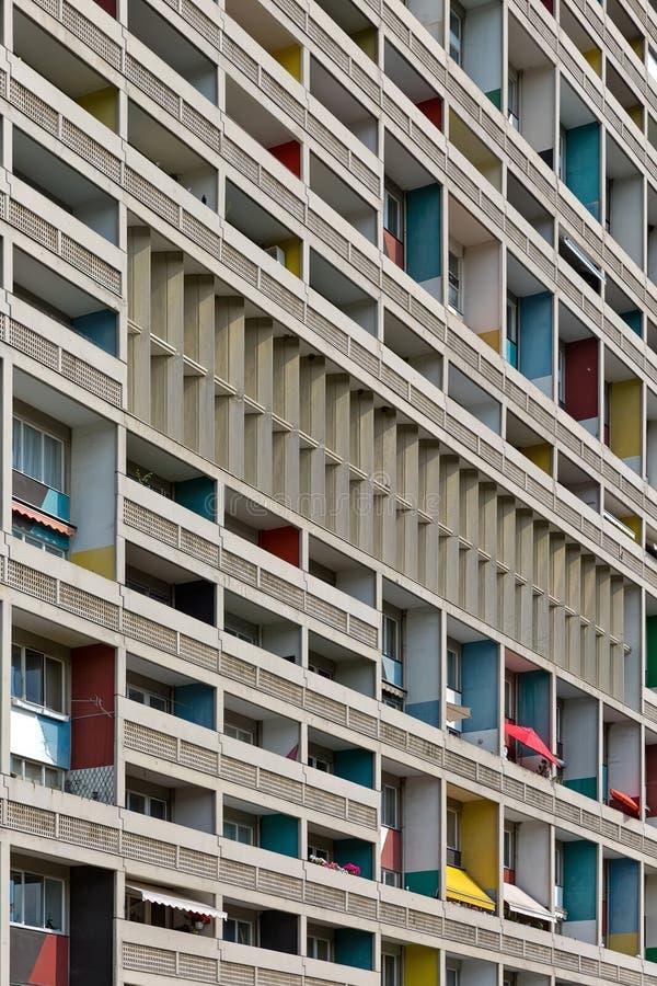 BERLIN, ALLEMAGNE - JUILLET 2014 : Le Corbusier Haus a été conçu par photo stock