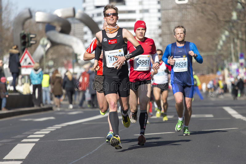 Download Berlin half marathon editorial stock image. Image of crowd - 30302054