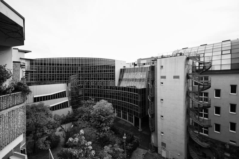Berlin architecture stock image