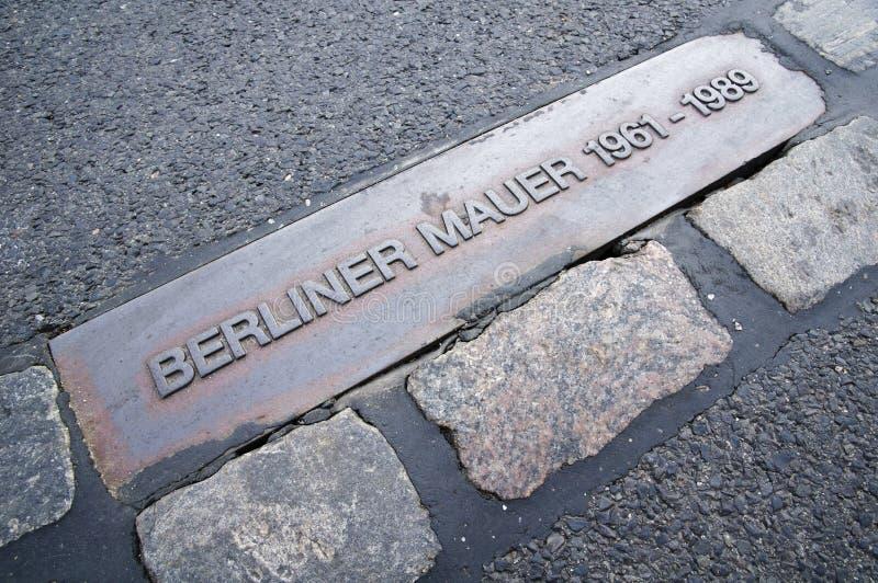 berlin berlińczyk mauer ściana zdjęcie royalty free