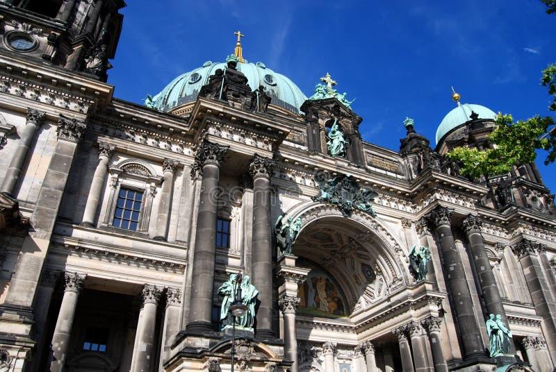 berlin berliner domkyrkadom germany arkivbilder