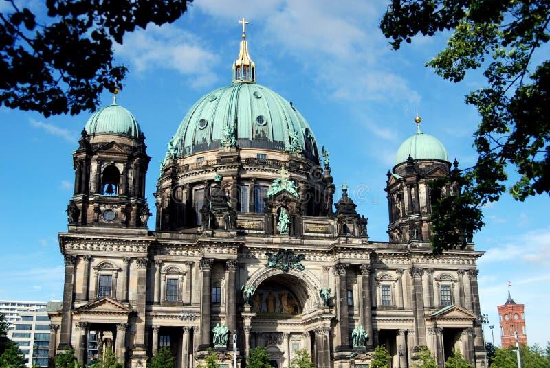 berlin berliner domkyrkadom germany arkivfoton