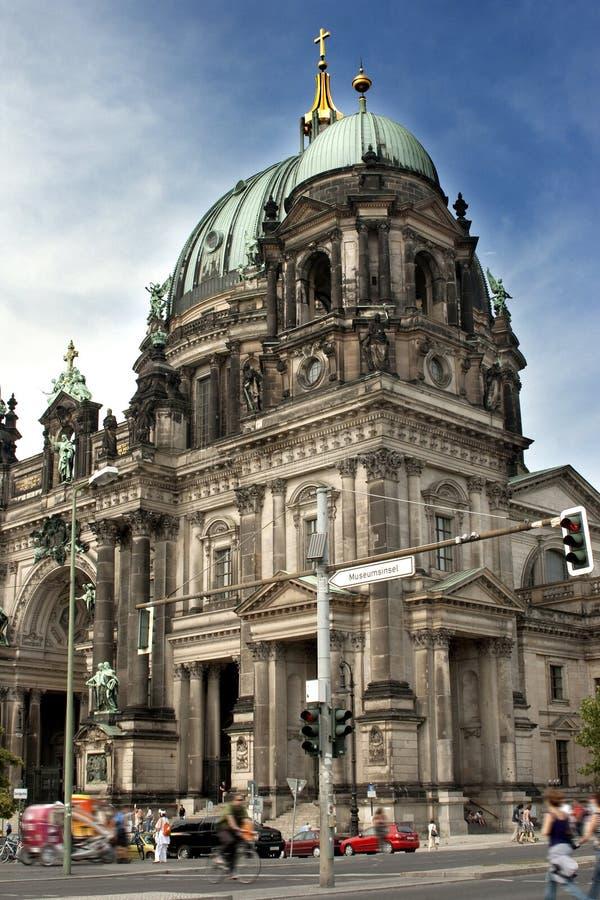 berlin berlinerdom arkivfoton