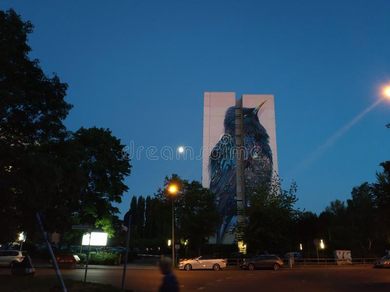 Berlin Architektur. Berlin bird building royalty free stock photos