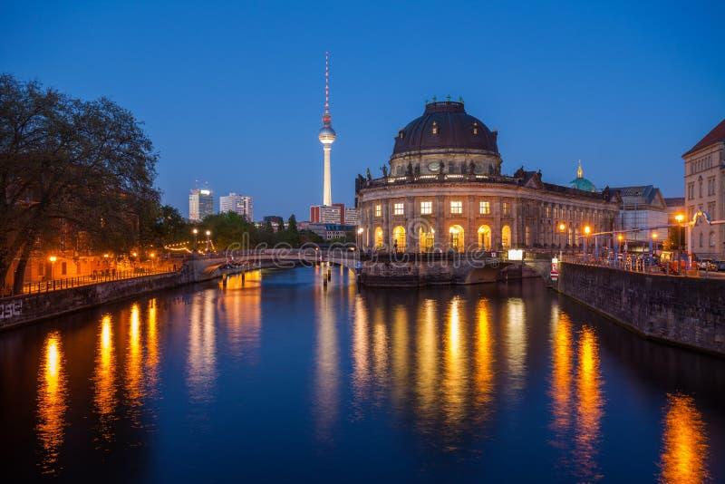 Berlin Bode Museum arkivbilder