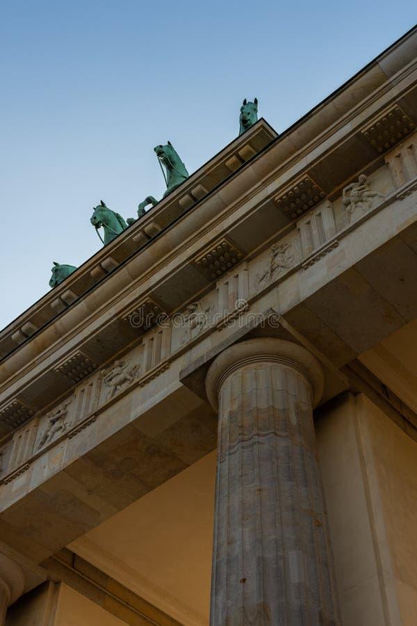 berlin brama Brandenburg zdjęcia stock