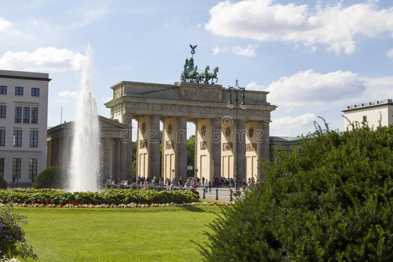 Berlin Brandenburg Gate, Berlim, Alemanha fotografia de stock royalty free
