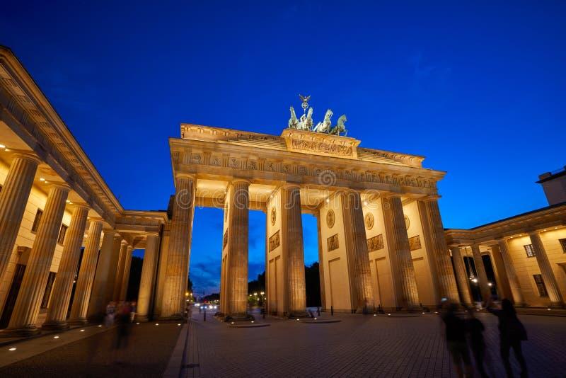 Berlin Brandenburg Gate Brandenburger Tor lizenzfreies stockbild