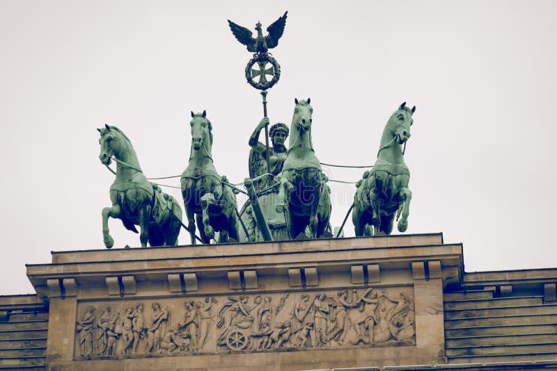 Berlin Brandenburg Gate Brandenburger Tor, Berlín, Alemania imágenes de archivo libres de regalías