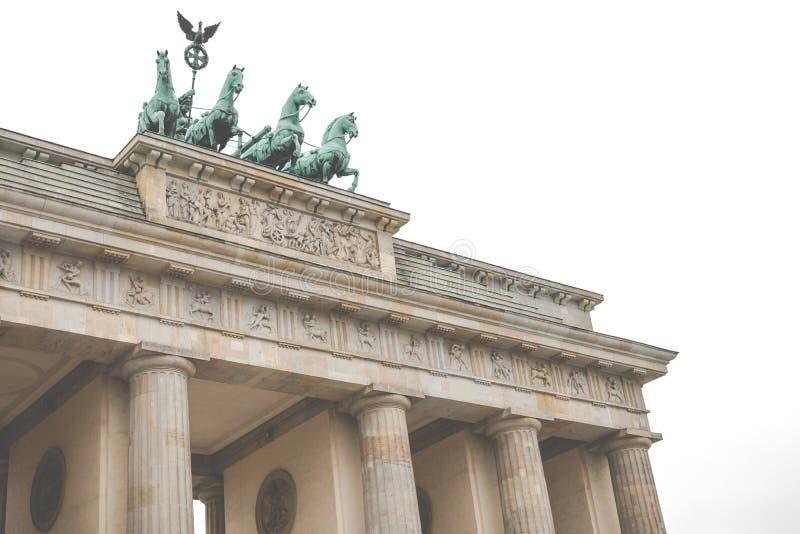 Berlin Brandenburg Gate Brandenburger Tor, Berlín, Alemania fotos de archivo