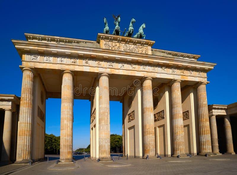 Berlin Brandenburg Gate Brandenburger Tor stock images