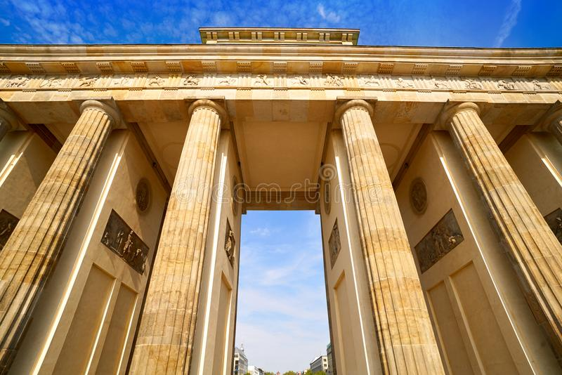 Berlin Brandenburg Gate Brandenburger Tor stock photo