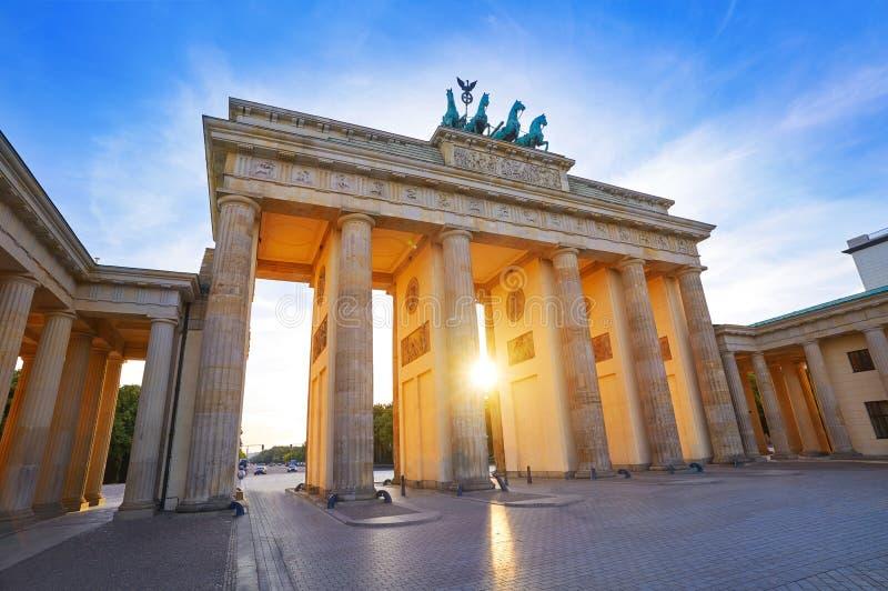 Berlin Brandenburg Gate Brandenburger Tor royalty free stock photos