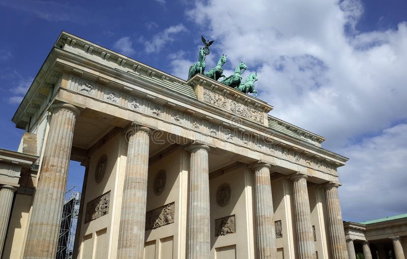berlin brandenburger tor obraz royalty free