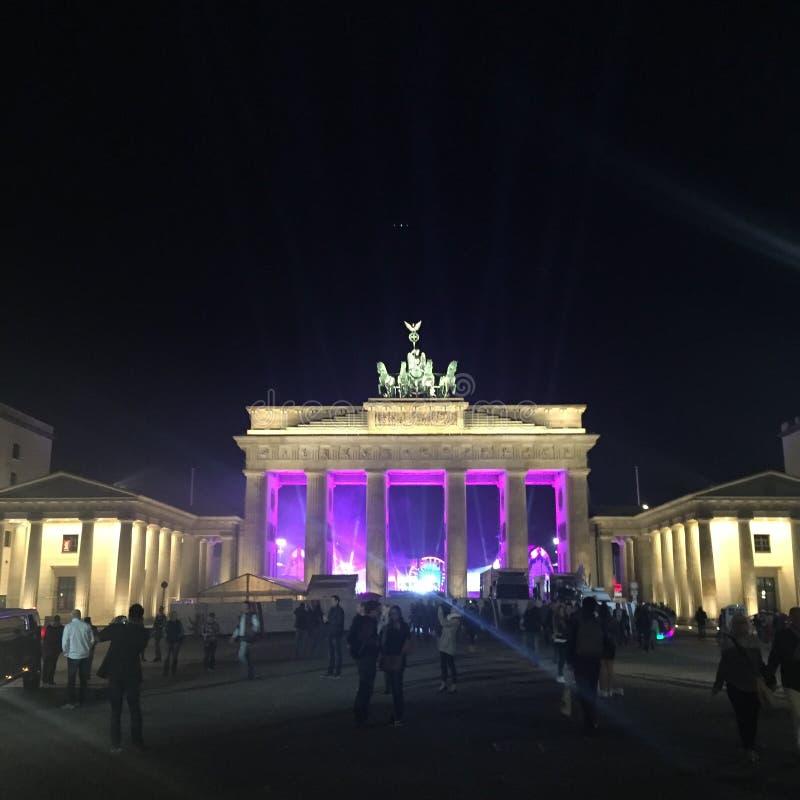 Berlin Brandenburger Tor Germany image stock