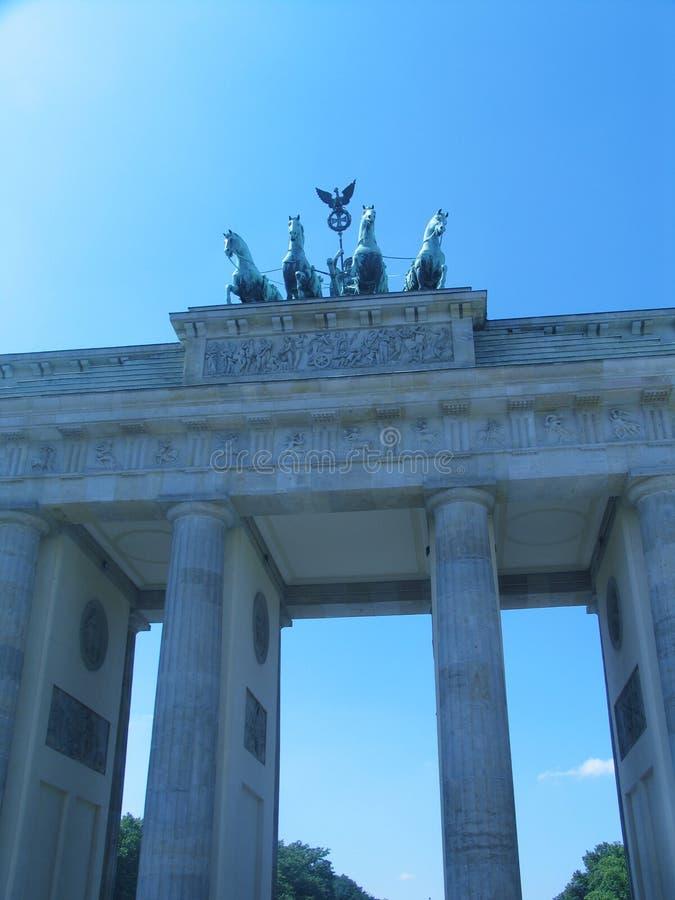 berlin brandenburgertor royaltyfria bilder