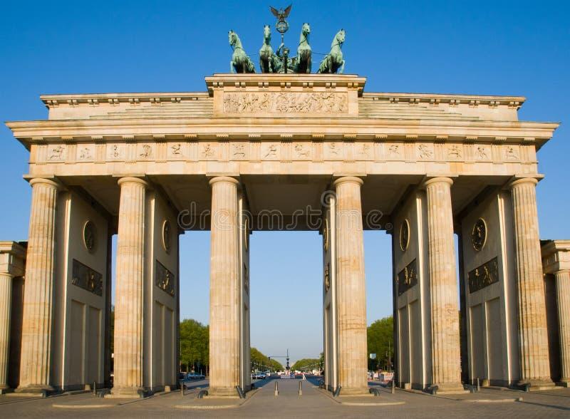 berlin brandenburgertor arkivfoto