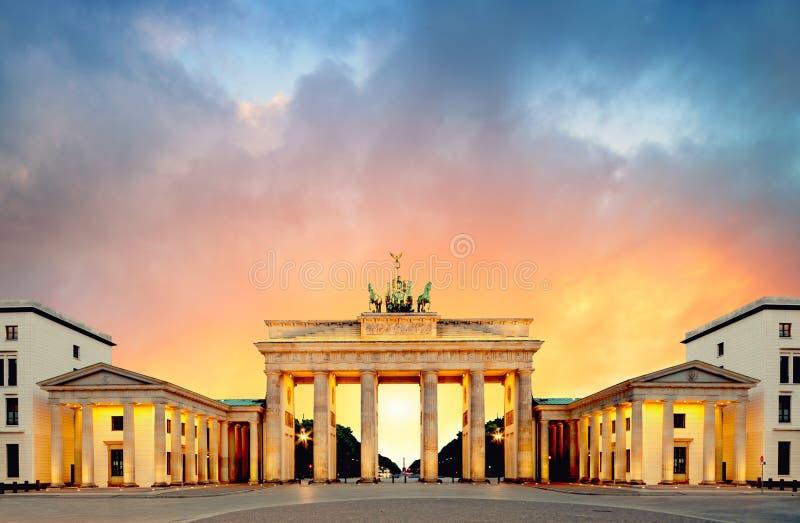 berlin Brandenburgii brama German zdjęcie royalty free