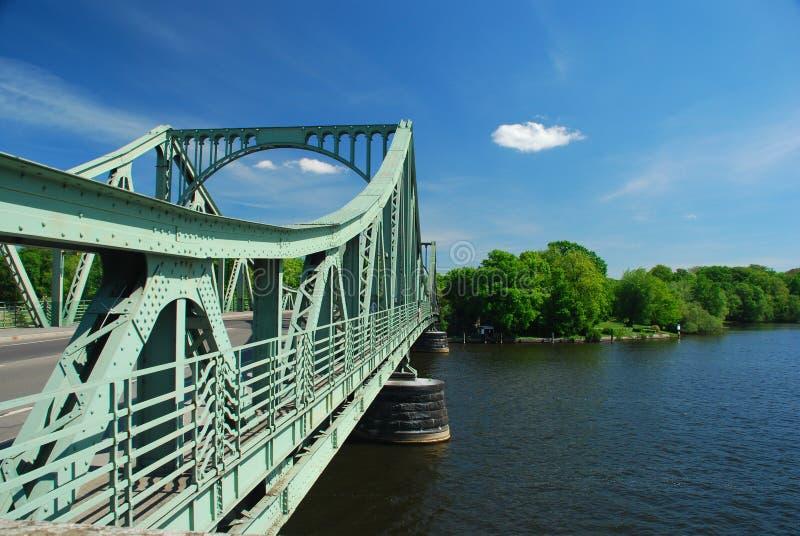 berlin bridżowy glienicker wannsee zdjęcia royalty free