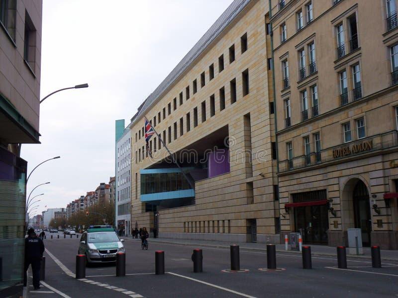 Berlin - British Embassy royalty free stock images