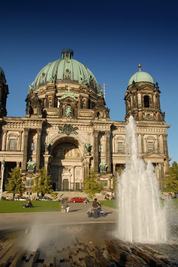 Berlin Cahedral stockfotografie