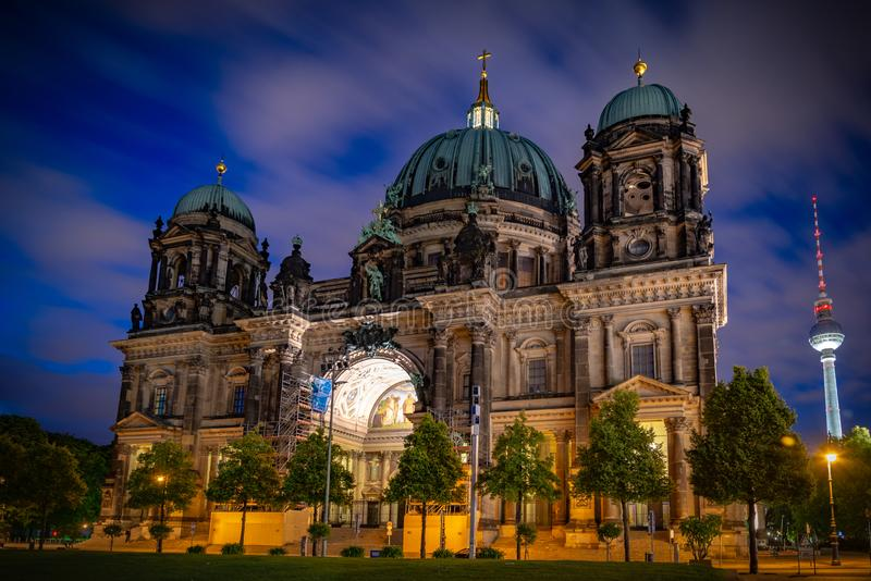 Berlin Cathedral royalty-vrije stock foto